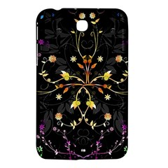 Beautiful Floral Swirl Brushes Vector Design Samsung Galaxy Tab 3 (7 ) P3200 Hardshell Case  by flipstylezdes