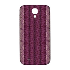 Beautiful Decorative Creative Purple Seamless Design By Kiekie Stricklnd Samsung Galaxy S4 I9500/i9505  Hardshell Back Case by flipstylezdes