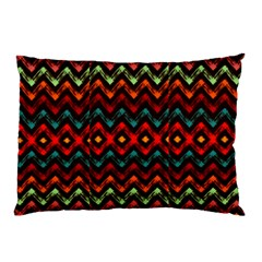 Seamless Native Zigzags By Flipstylez Designs Pillow Case