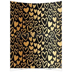 Cluster Of Tiny Gold Hearts Seamless Vector Design By Flipstylez Designs Back Support Cushion