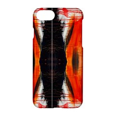 Retro Native Orange Graffiti By Kiekie Strickland Apple Iphone 7 Hardshell Case