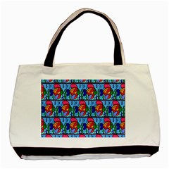 Fish Basic Tote Bag (two Sides)