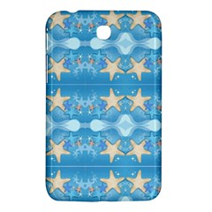 Adorably Cute Beach Party Starfish Design Samsung Galaxy Tab 3 (7 ) P3200 Hardshell Case  by flipstylezdes