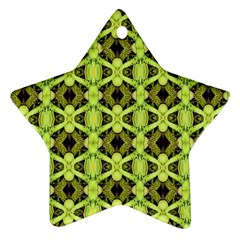 D 8 Star Ornament (two Sides)