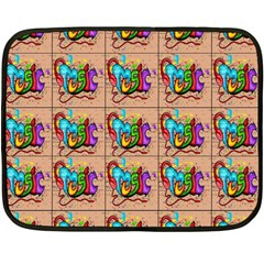 1 Double Sided Fleece Blanket (mini)