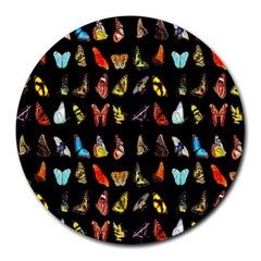 Butterfly Round Mousepads