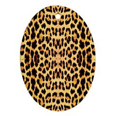 Leopard Skin Ornament (oval)
