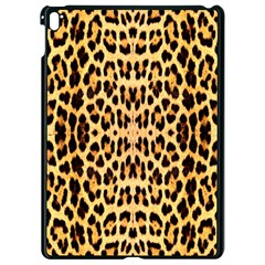 Leopard Skin Apple Ipad Pro 9 7   Black Seamless Case