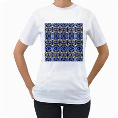 1 Women s T Shirt (white) (two Sided)