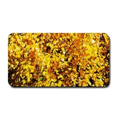 Birch Tree Yellow Leaves Medium Bar Mats