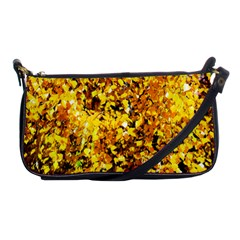 Birch Tree Yellow Leaves Shoulder Clutch Bags by FunnyCow