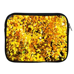 Birch Tree Yellow Leaves Apple Ipad 2/3/4 Zipper Cases by FunnyCow