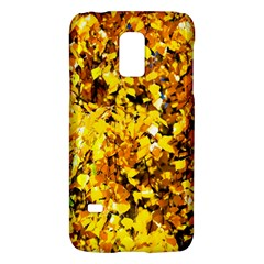 Birch Tree Yellow Leaves Samsung Galaxy S5 Mini Hardshell Case  by FunnyCow