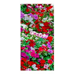Colorful Petunia Flowers Shower Curtain 36  X 72  (stall)