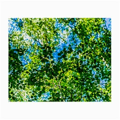 Forest   Strain Towards The Light Small Glasses Cloth (2 Side) by FunnyCow
