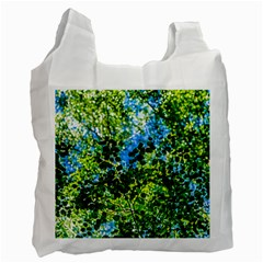 Forest   Strain Towards The Light Recycle Bag (two Side)  by FunnyCow