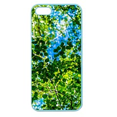 Forest   Strain Towards The Light Apple Seamless Iphone 5 Case (color) by FunnyCow