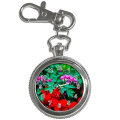 Bleeding Heart Flowers Key Chain Watches by FunnyCow