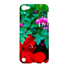 Bleeding Heart Flowers Apple Ipod Touch 5 Hardshell Case by FunnyCow