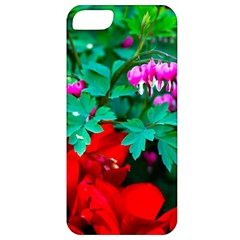 Bleeding Heart Flowers Apple Iphone 5 Classic Hardshell Case by FunnyCow