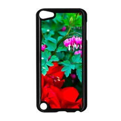 Bleeding Heart Flowers Apple Ipod Touch 5 Case (black) by FunnyCow