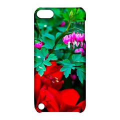 Bleeding Heart Flowers Apple Ipod Touch 5 Hardshell Case With Stand by FunnyCow