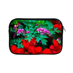 Bleeding Heart Flowers Apple Ipad Mini Zipper Cases by FunnyCow