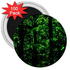 Emerald Forest 3  Magnets (100 Pack) by FunnyCow