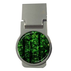 Emerald Forest Money Clips (round)  by FunnyCow
