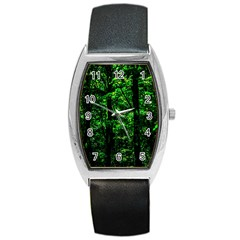 Emerald Forest Barrel Style Metal Watch