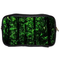 Emerald Forest Toiletries Bags by FunnyCow