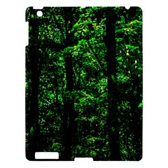 Emerald Forest Apple Ipad 3/4 Hardshell Case by FunnyCow