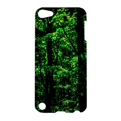 Emerald Forest Apple Ipod Touch 5 Hardshell Case by FunnyCow