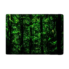 Emerald Forest Apple Ipad Mini Flip Case by FunnyCow