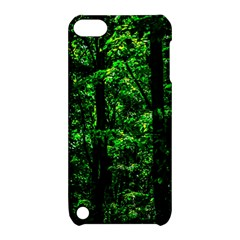 Emerald Forest Apple Ipod Touch 5 Hardshell Case With Stand by FunnyCow