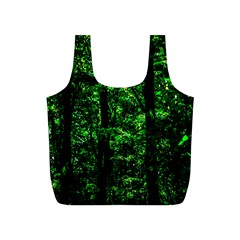 Emerald Forest Full Print Recycle Bags (s)  by FunnyCow