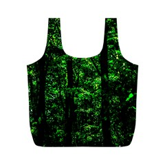Emerald Forest Full Print Recycle Bags (m)  by FunnyCow