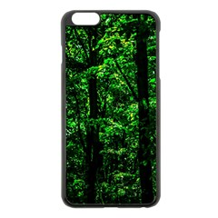 Emerald Forest Apple Iphone 6 Plus/6s Plus Black Enamel Case by FunnyCow