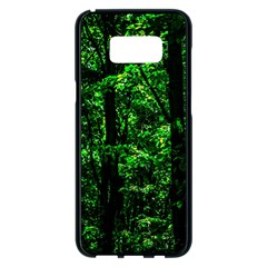 Emerald Forest Samsung Galaxy S8 Plus Black Seamless Case