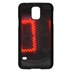 The Time Is Now Samsung Galaxy S5 Case (black) by FunnyCow