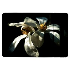 Two White Magnolia Flowers Ipad Air Flip