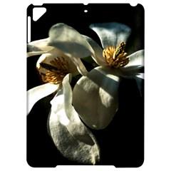 Two White Magnolia Flowers Apple Ipad Pro 9 7   Hardshell Case by FunnyCow