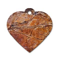 Granite 0112 Dog Tag Heart (one Side)