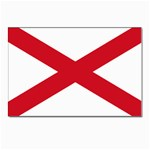 Alabama State Flag -  Postcard 5  x 7