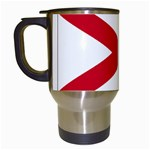 Alabama State Flag -  Travel Mug (White)