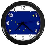 Alaska State Flag -  Wall Clock (Black)