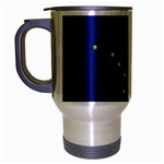 Alaska State Flag -  Travel Mug (Silver Gray)