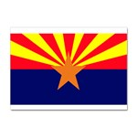 Arizona State Flag -  Sticker A4 (10 pack)
