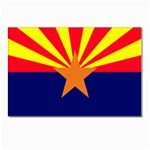 Arizona State Flag -  Postcards 5  x 7  (Pkg of 10)