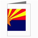 Arizona State Flag -  Greeting Cards (Pkg of 8)